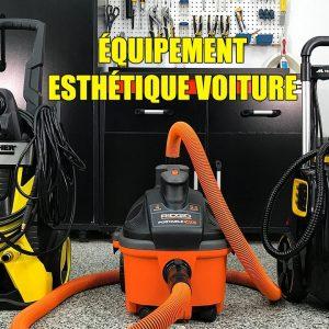 ÉQUIPEMENTS POUR LAVAGE DE VOITURES: Nettoyeur Haute Pression, Aspirateur et Nettoyeur à Vapeur