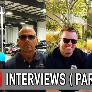 1-on-1 interviews with famous detailing YouTubers !! [PART 1]