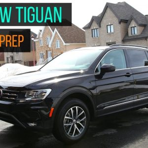 2018 VOLKSWAGEN TIGUAN : New Car Prep Detail !!