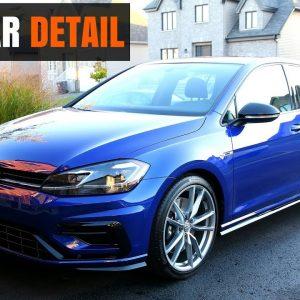 2018 VW GOLF R : FULL DETAIL OF A NEW CAR (Part 1)