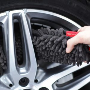 A great brush for wheels and lug nuts : WoollyWormit !!