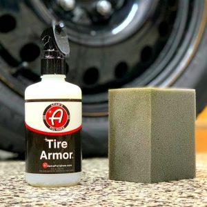ADAM'S TIRE ARMOR  Review : A semi permanent tire dressing ?!?