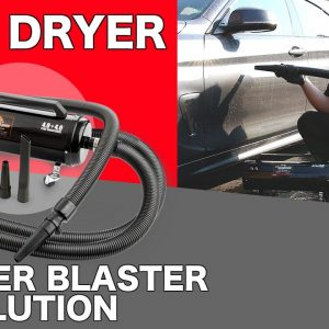Air Force Master Blaster Revolution CAR DRYER REVIEW AND DEMO!