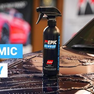 Malco EPIC CR2 Ceramic Spray : Superb protection, gloss and water sheeting!