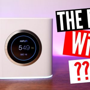 AmpliFi HD : The Best Mesh WiFi Router?  (Unboxing & Review)