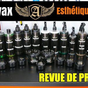 ANGELWAX: Produits d'Esthétique de Voiture Haut de Gamme !!