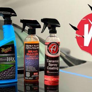 Meguiar's Hybrid Ceramic Wax VS P&S Bead Maker VS Adam's Ceramic Spray Coating !!