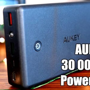 Aukey 30 000mAh Power Bank review!  The Ultimate Portable Charger?