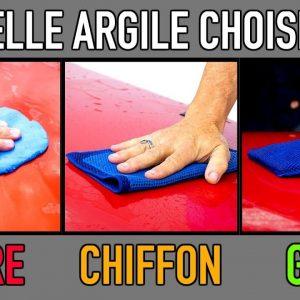 Barre d'argile vs Chiffon d'argile vs Gant d'argile : Quel est le meilleur ??