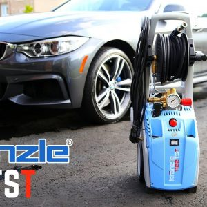 BEST PRESSURE WASHER FOR WASHING CARS !!!  Kranzle 1122TST