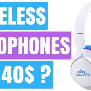 BEST WIRELESS HEADPHONES UNDER 50$ ?!?  (Mixcder ShareMe 7 unboxing & review)