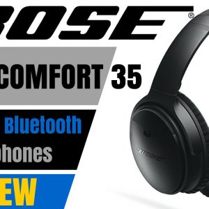 BOSE QuietComfort 35  headphones (QC35) - REVIEW & UNBOXING