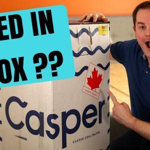 CASPER MATTRESS UNBOXING & REVIEW !!!