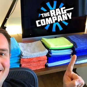 Chiffons Microfibres The Rag Company !!  Qualité premium à petit prix!