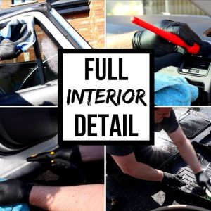 CLEANING A CAR INTERIOR !! COMPLETE INTERIOR DETAIL OF A DAILY DRIVER !!