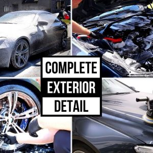 CLEANING AND DETAILING AN EXPENSIVE CAR !!  COMPLETE DEEP CLEANING !!
