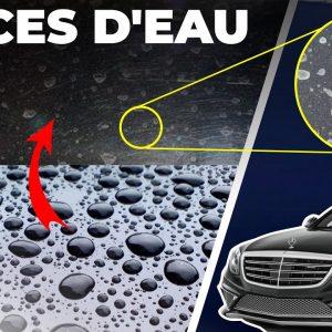 Comment enlever des taches d'eau sur la carrosserie !!