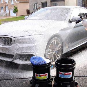 Comment je lave ma voiture!  (Lavage d'appoint)