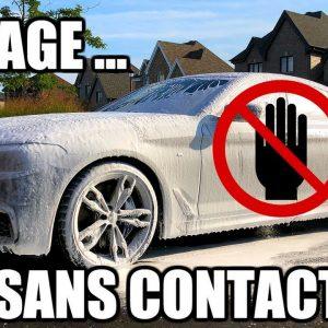 Comment laver sa voiture SANS CONTACT!  Fini les rayures!!