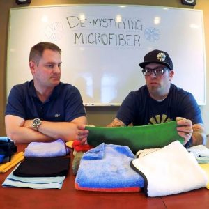 Demystifying Microfiber Towels E.3 | Edges & Maintenance