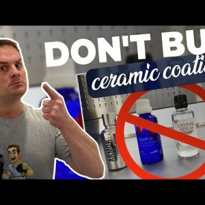 DON'T BUY CERAMIC COATINGS BEFORE WATCHING THIS !!