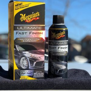 MEGUIAR'S ULTIMATE FAST FINISH : A Great Paint Sealant That's Easy to Apply!