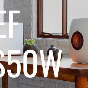 Enceintes Hi-Fi sans fil KEF LS50W !!