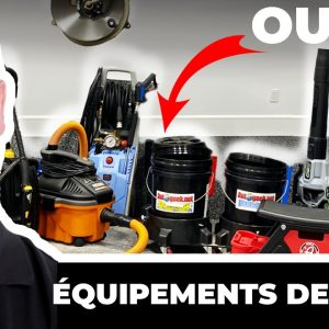 Équipement et Outils pour le Detailing de Voitures !!