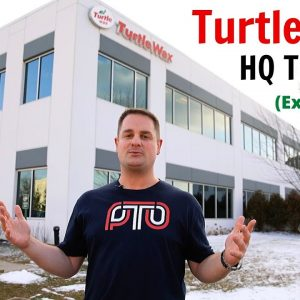 EXCLUSIVE!  A TOUR OF TURTLE WAX HQ !! (EXTENDED CUT)
