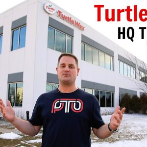 EXCLUSIVE!  A TOUR OF TURTLE WAX HQ !! (FEATURE)