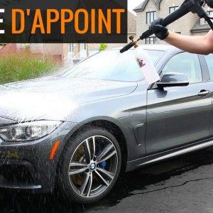 Comment faire un lavage d'appoint sur une voiture avec une protection céramique!