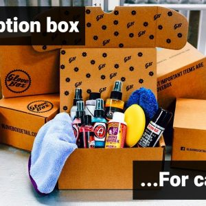 GloveBox Detailing Subscription Boxes!  COOL GIFT FOR CAR GUYS!