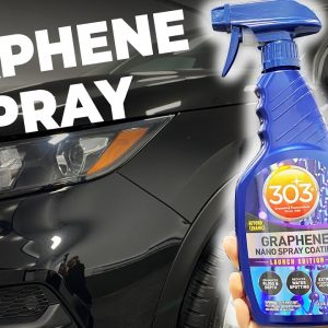 GRAPHENE SPRAY COATING from 303 !! Easy on, easy off! NO CURING NEEDED!
