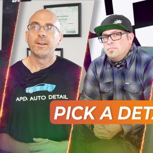 How to choose a good car detailer! With SPECIAL GUESTS !!!