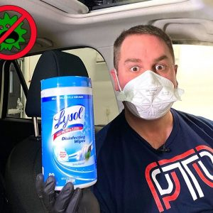 HOW TO CLEAN AND DISINFECT YOUR CAR'S INTERIOR AT HOME !!