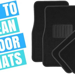 HOW TO CLEAN CAR FLOOR MATS !!!  (Quick & easy!)