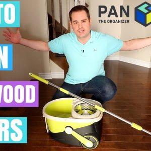 HOW TO CLEAN HARDWOOD FLOORS !!!