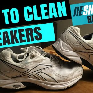 HOW TO CLEAN SHOES !!