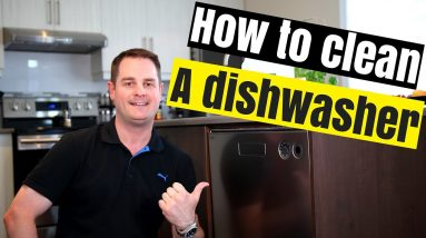 HOW TO CLEAN YOUR DISHWASHER (QUICK & EASY !!)
