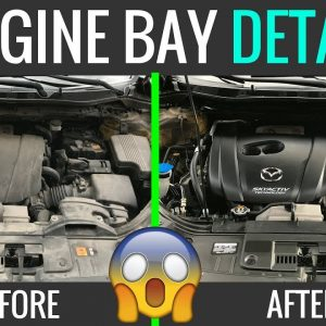 HOW TO CLEAN YOUR ENGINE BAY !!!  EASY TUTORIAL !