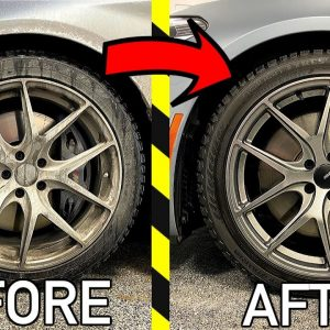 HOW TO CLEAN YOUR WHEELS AND TIRES !!