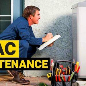 HOW TO DO HVAC SYSTEM MAINTENANCE AND SAVE MONEY !!
