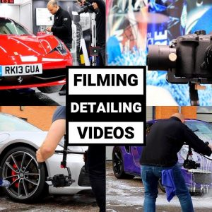 HOW TO MAKE AMAZING CAR DETAILING VIDEOS !!  (ft. Staffordshire Car Care)