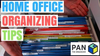 HOW TO ORGANIZE YOUR HOME OFFICE !!!