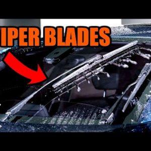 HOW TO RENEW WINDSHIELD WIPER BLADES - ZERO STREAKS, QUICK & EASY !!
