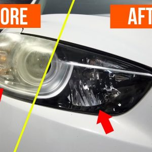 HOW TO RESTORE HEADLIGHTS ... QUICK & EASY, NO TOOLS !!