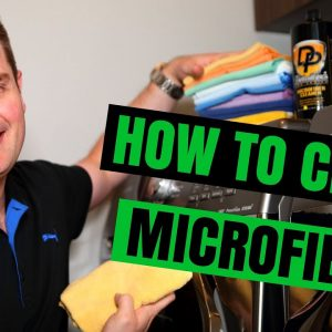 HOW TO WASH MICROFIBER TOWELS PROPERLY !!