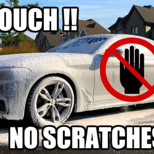 How to wash your car WITHOUT touching it!  NO MORE SCRATCHES !!