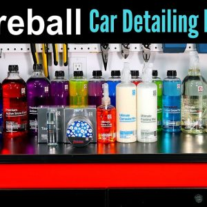 FIREBALL Car Detailing Products: Brand Review !!! (ft. Fusion Wax, Snow Foam, Iron Burn & Coatings)