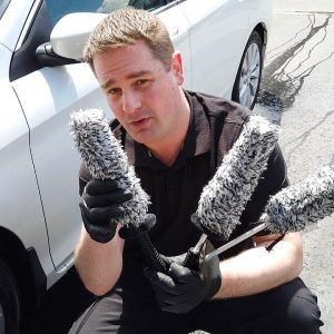Inexpensive wheel brushes, foam cannons and microfiber towels !!
